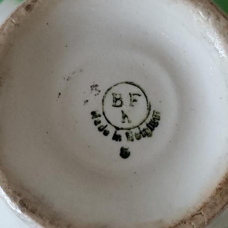 市松模様のカフェオレボウル