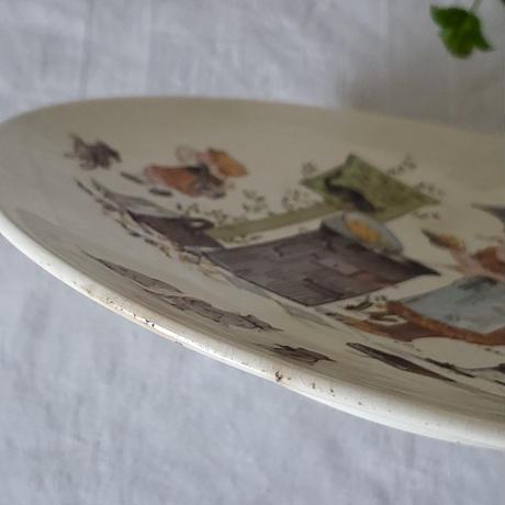 サルグミンヌ アルベール・リシャールの飾り皿