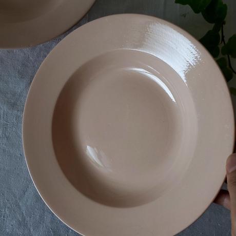 サルグミンヌピンクの深皿#2