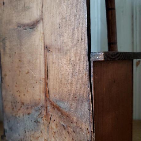 ドール用収納付きシェルフ