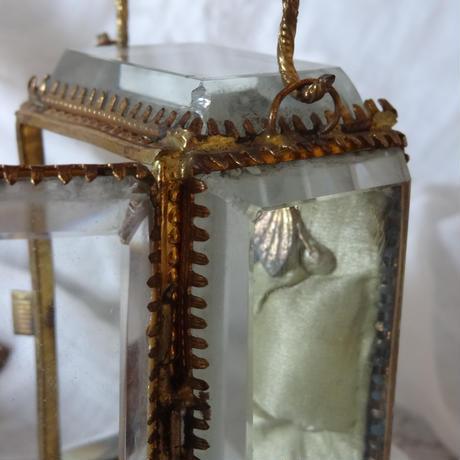 懐中時計縦型ガラスケース/ジュエリーケース
