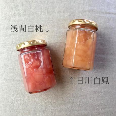 桃のジャム