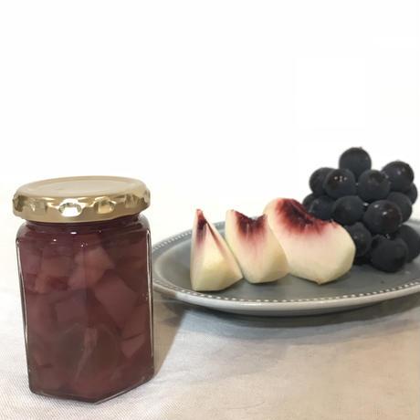 桃と葡萄のジャム