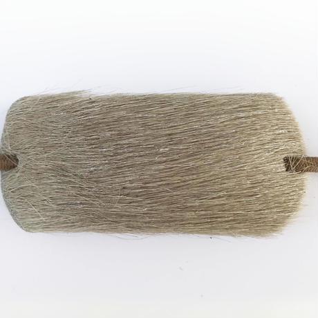 革のヘアゴム(モカホース)