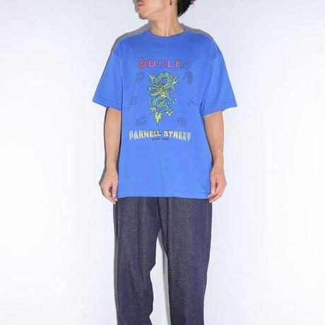 DRAGON TEE  (BLUE)