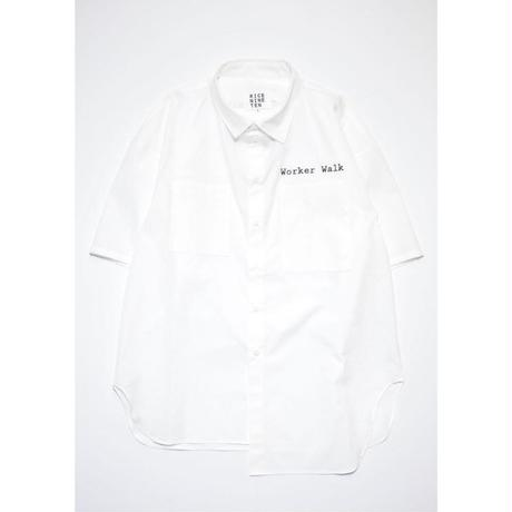 "ASYMMETRIC ""Y"" SHIRT (WHITE)"