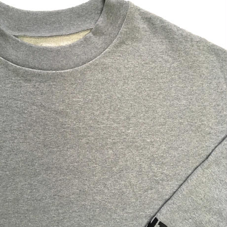 SHOULDER DROP RNT SWEAT (MOKU-GREY)