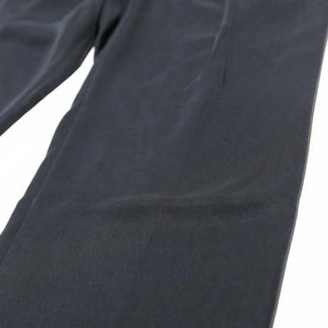 LYOCELL LONG LENGTH WIDE TUCK PANTS