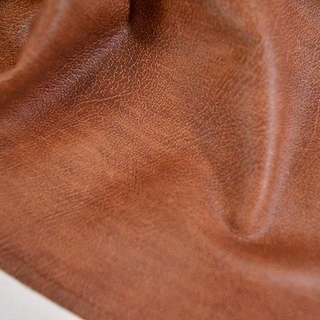 SEMI SUEDE OFF NECK SHIRT  (BROWN)