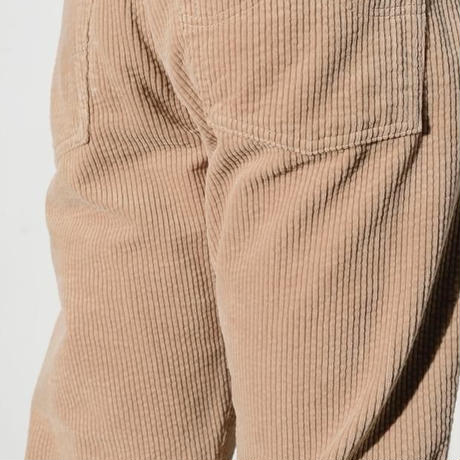 7W CORDUROY BIO WASHED BOOTCUT PANTS(BEIGE)