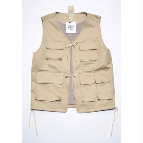 MULTIFUNCTION VEST  (BEIGE)