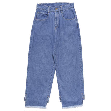 COVER UP LOOSE JEANS (BLEACH)