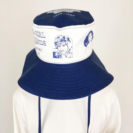 PAINTER STRAP HAT   (BLUE)