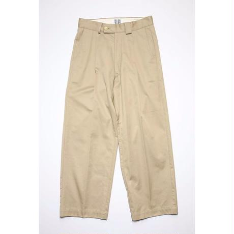 WORKER'S WIDE PANTS (BEIGE)