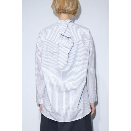 TYPEWRITER STRIPE ODD SHIRT