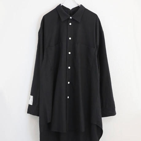 ODD OVER SHIRT (BLACK)
