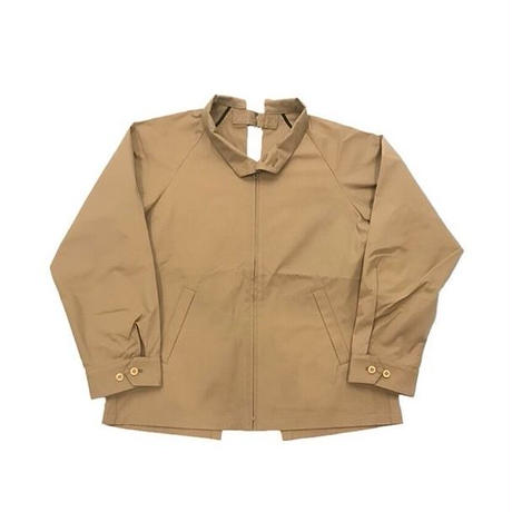 BACK OPEN DRIZZLER JACKET(BEIGE)