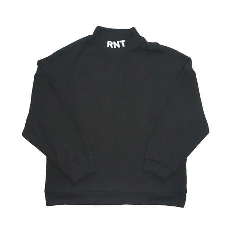 HIGH NECK RNT KNIT(BLACK)