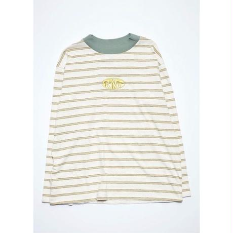 RNT HORIZONTAL STRIPE L/S TEE (OFF WHITE)