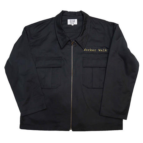 WORKER'S PATCH BLOUSON (BLACK)