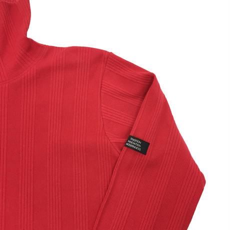 RANDOM TELECO HIGH NECK JERSEY  (RED)