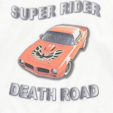 SUPER RIDER TEE TYPE 1 (WHITE)