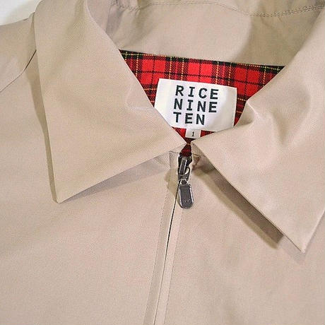 ROLL UP BLOUSON (BEIGE)