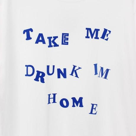 DRUNKARD FLOCKY PRINT TEE (WHITE)