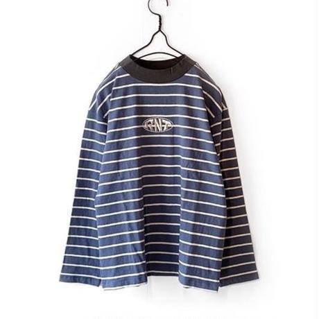 RNT HORIZONTAL STRIPE L/S TEE (BLUE)