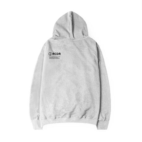 "RCDR ""BASIC"" P/O HOODIE / HEATHER GRAY"
