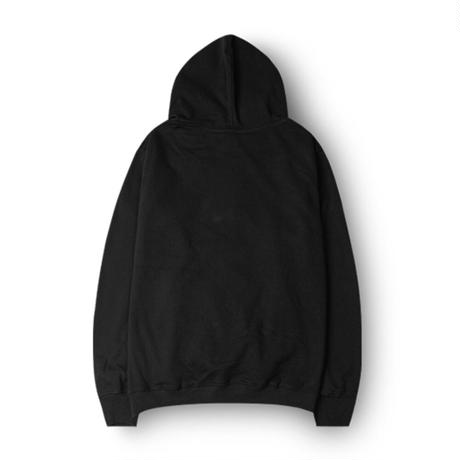 ESSENTIAL MUSIC PRESENTS ''NIGHT FLIGHT'' HOODIE  by RCDR / BLACK