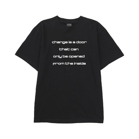 """""""FROM THE INSIDE"""" TEE  [BLACK]"""