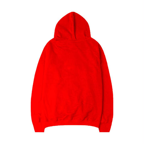 ESSENTIAL MUSIC PRESENTS ''NIGHT FLIGHT'' HOODIE  by RCDR / RED