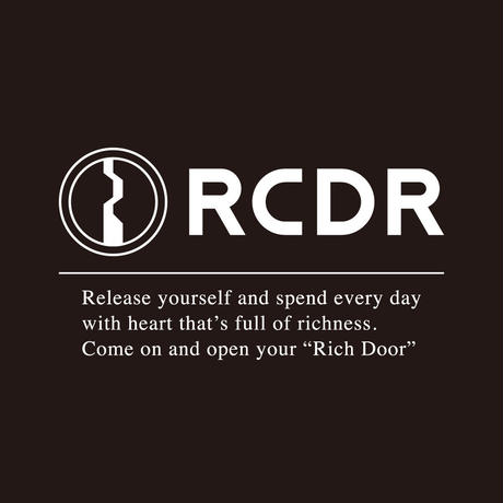 "RCDR ""LIMITED"" BASIC TEE (LIMITED) / BLACK"