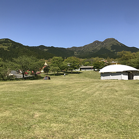 ⑥芝生オートキャンプサイト【Acoustic Lounge THE CAMP 2021】熊本・四季の里 旭志