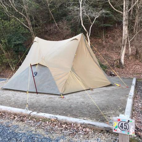 〔4〕ファミリーオートキャンプ露地サイト+駐車券1台分付き_〘CAMP〙4/10-11京都スチールの森