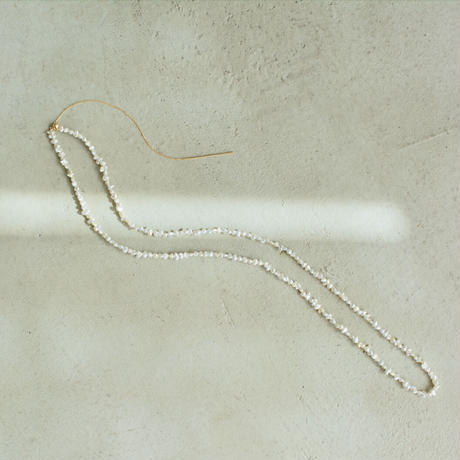 Akoya pearl sazare necklace long  chain