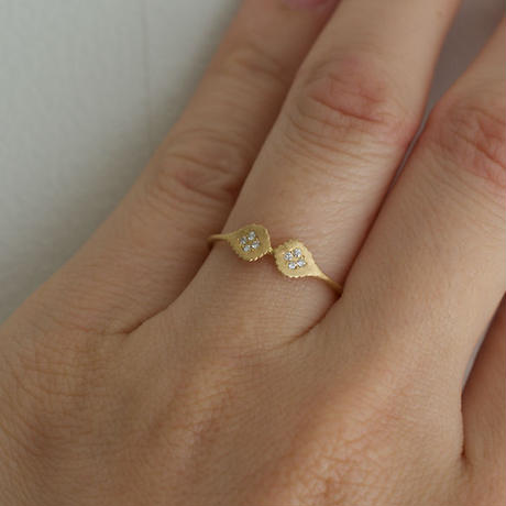 Paisley diamond ring S