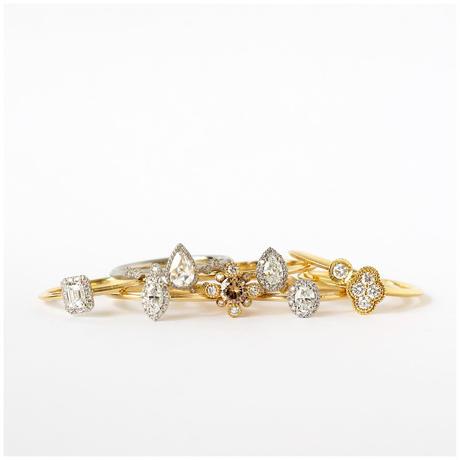 Bloom diamond ring