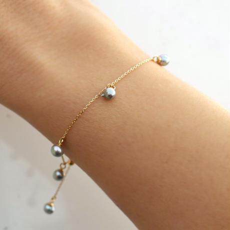 Baby akoya pearl  bracelet