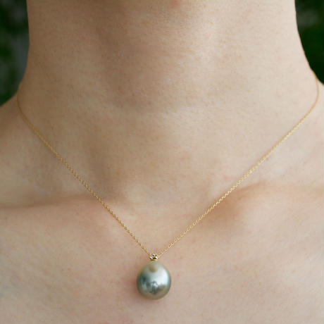 Ballon south sea pearl necklace