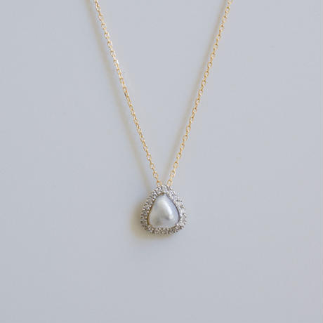 M様:Tulle south sea pearl necklace