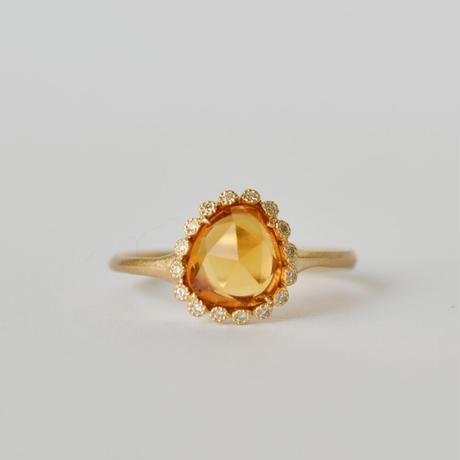 Branche sapphire ring