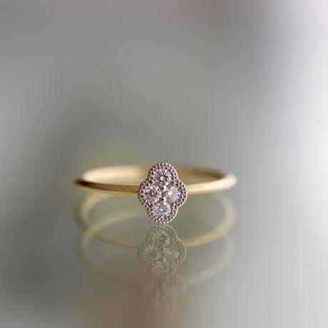 Bloom diamond ring PT YG