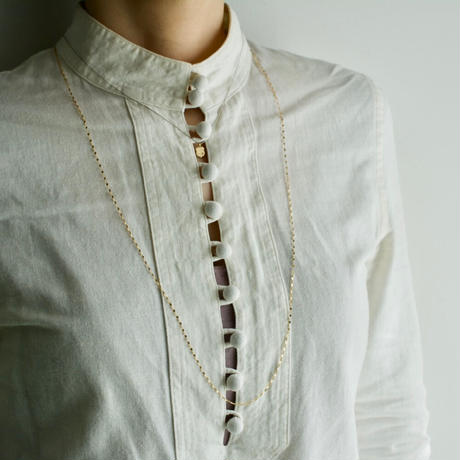 Chain necklace  long