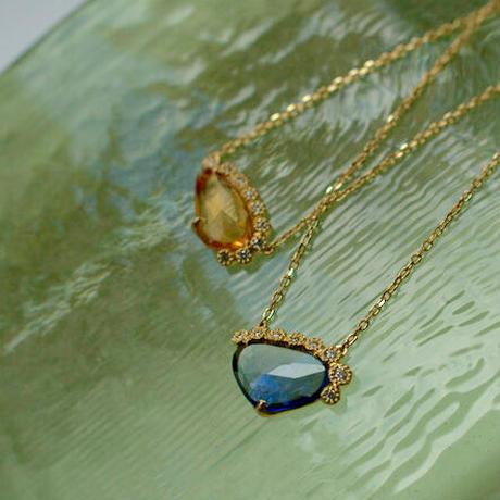 Branche sapphire necklace