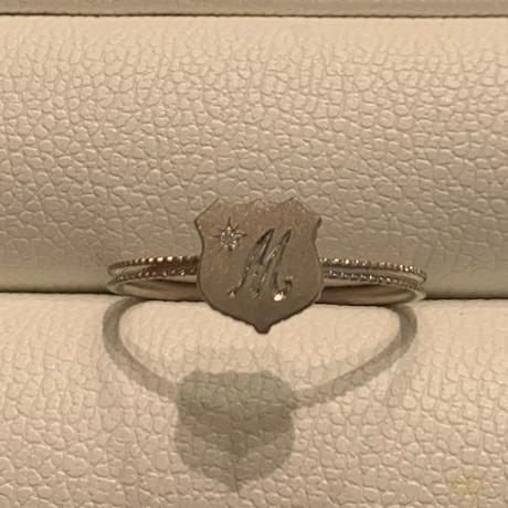 Alphabet ring shield WG