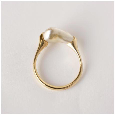 Ballon south sea pearl ring