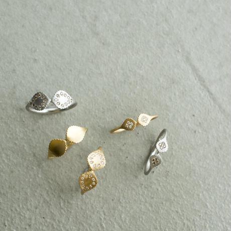 Paisley brown diamond ring M