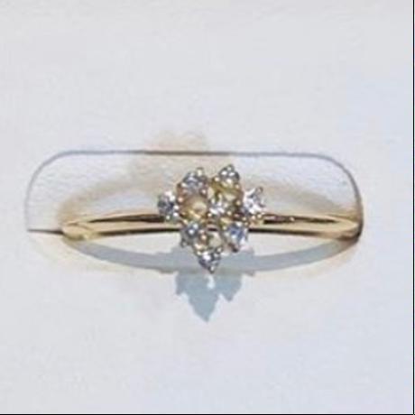 Chaton diamond ring 7